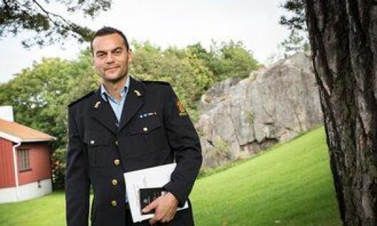 Politibetjent Tore Walden.