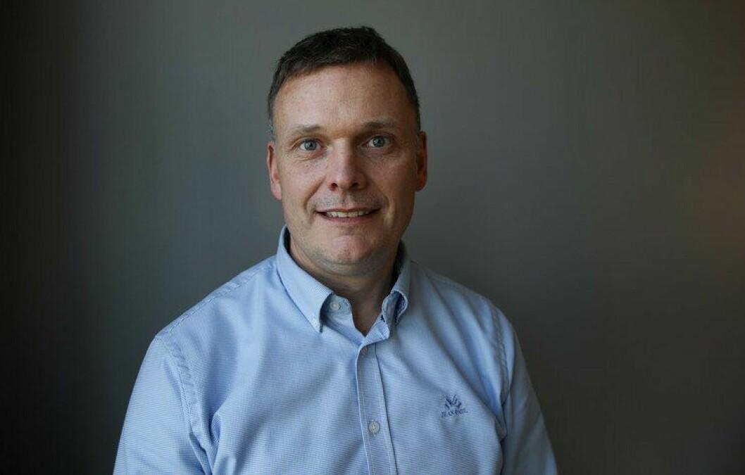 Ble lokallagsleder: Øyvind Lorentzen skiftet ut lensmannjobben med jobben som lokallagsleder i Politiets Fellesforbund.