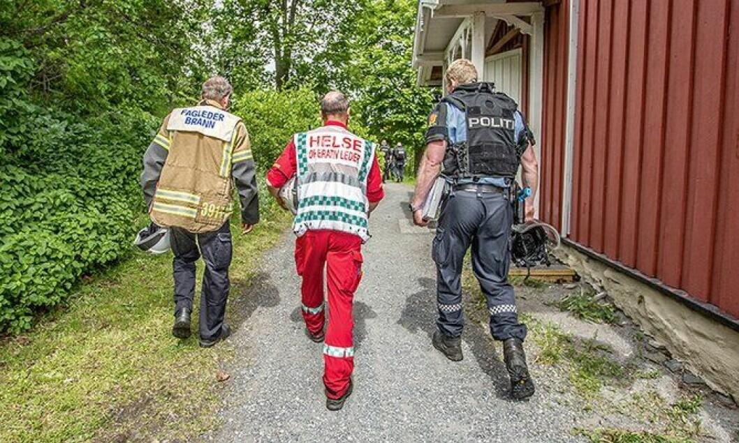 PLIVO-øvelse i Oslofjorden.