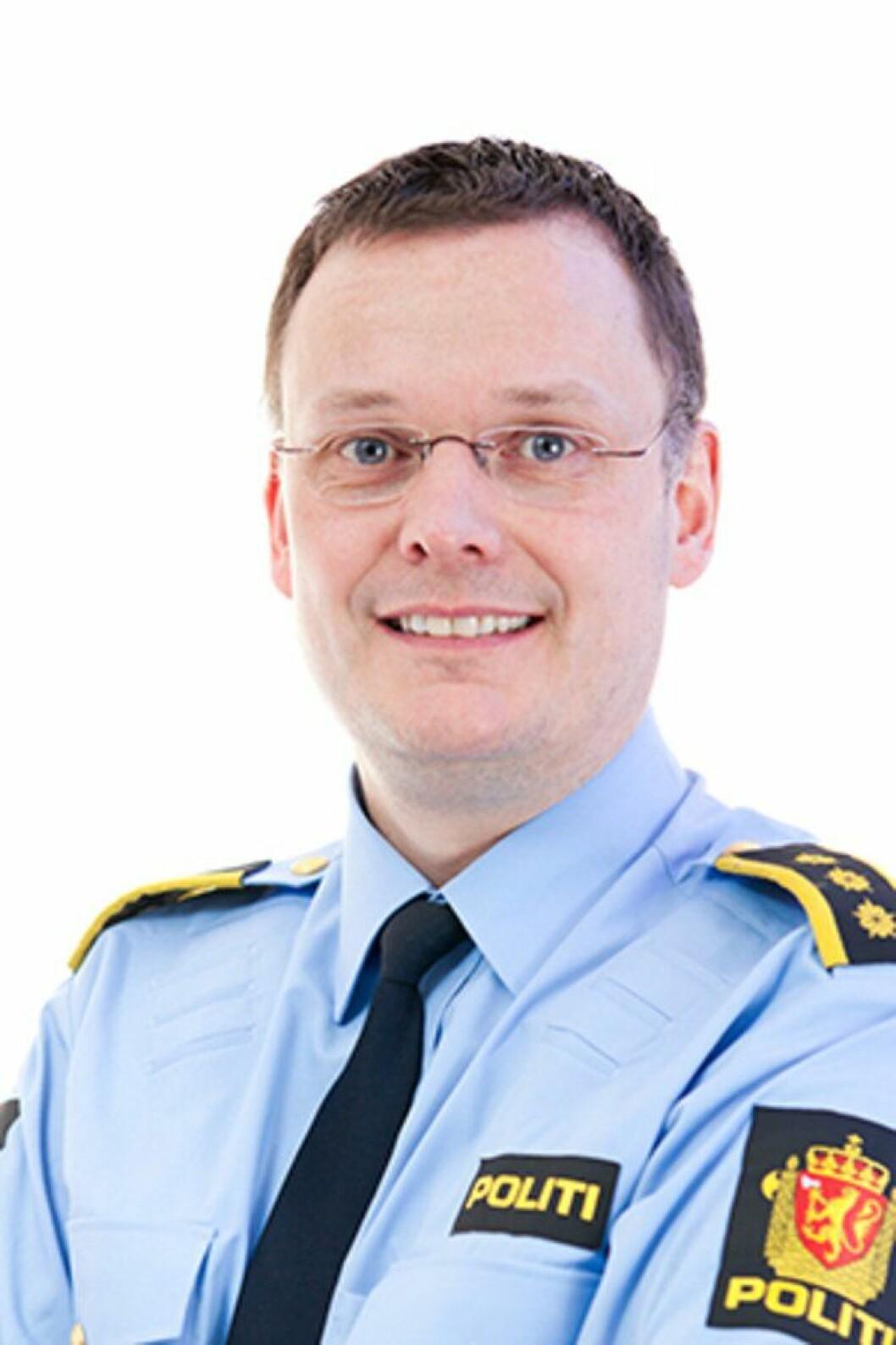 Før: Lensmann Øyvind Lorentzen.