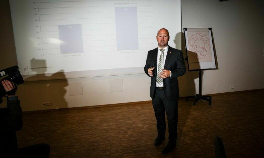 Justis- og beredskapsminister Anders Anundsen mener det er viktig å rette feilene i datasystemet så fort som mulig.