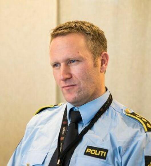 Sven Ingar Viken, lensmann i Namsos, håper på gode HMS-effekter av VR-satsinga.