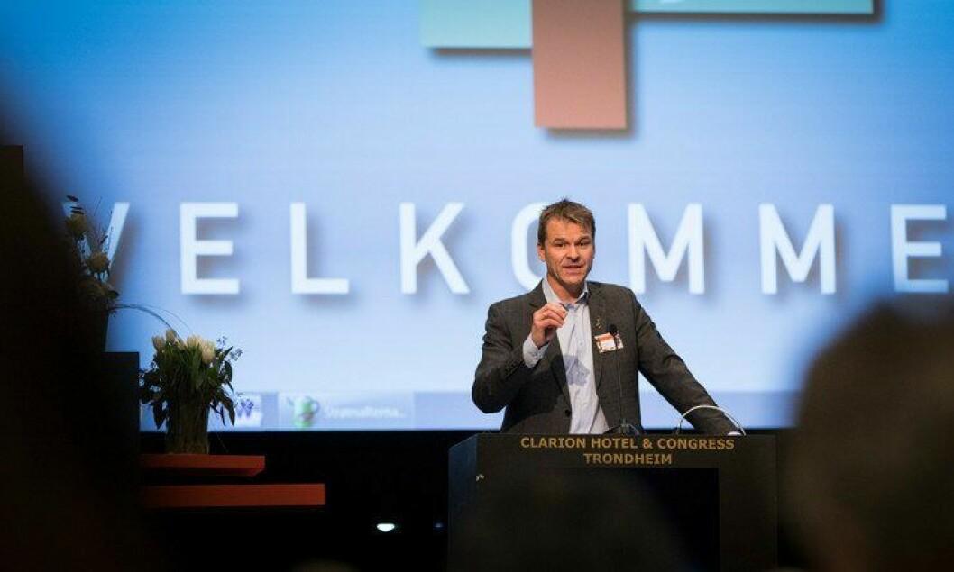 Sigve Bolstad åpnet landsmøtet 2016, der medvirkning skal være et gjennomgående tema.