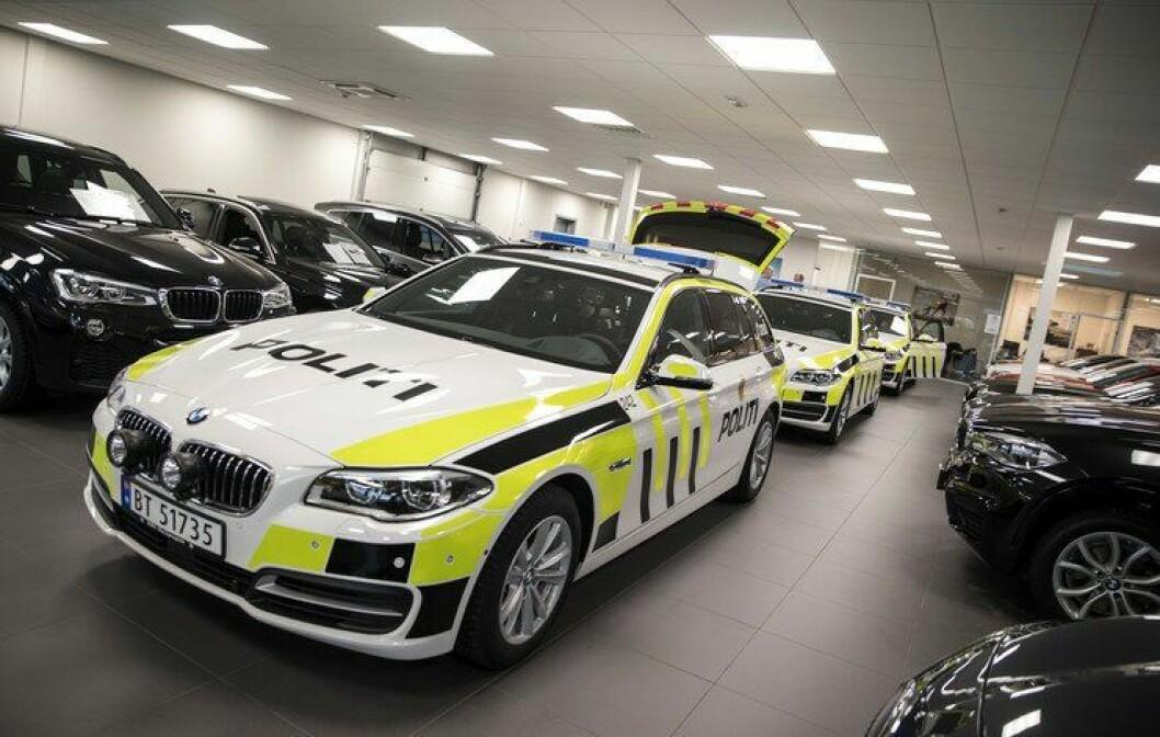 Nye BMW patruljebil kommer med mange spesifikasjoner. Listen ser du i saken.