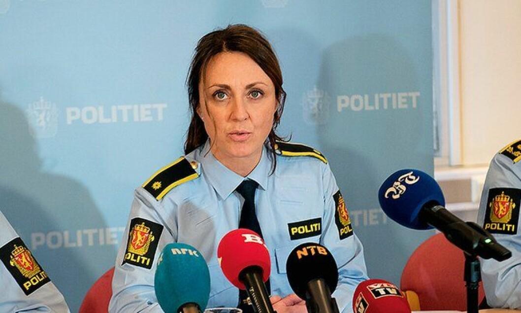 INNSATS: Hilde Reikrås leder Dark Room-etterforskningen i Vest politidistrikt. ARKIVFOTO