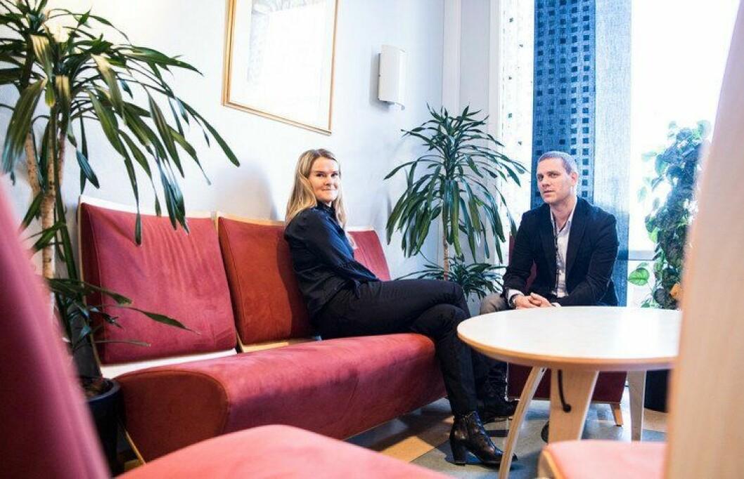 Hvordan unngå feil i etterforskninga? Det har Christine Bøe Jensen og Håkon Johannessen i Oslo-politiet spurt seg.