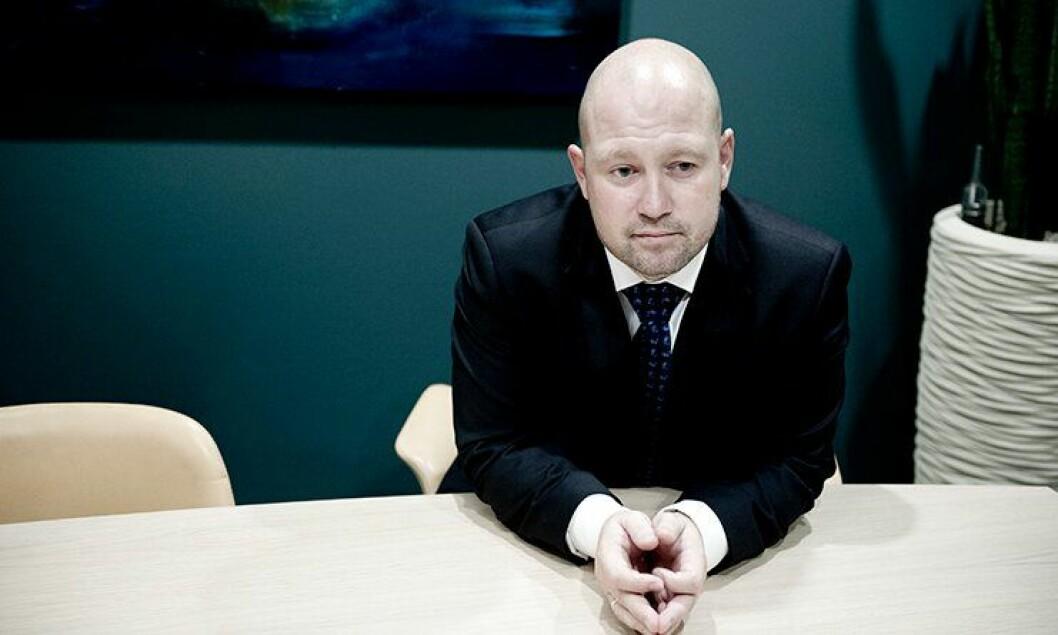 Anders Anundsen (Frp) gikk i dag av som justis- og beredskapsminister.