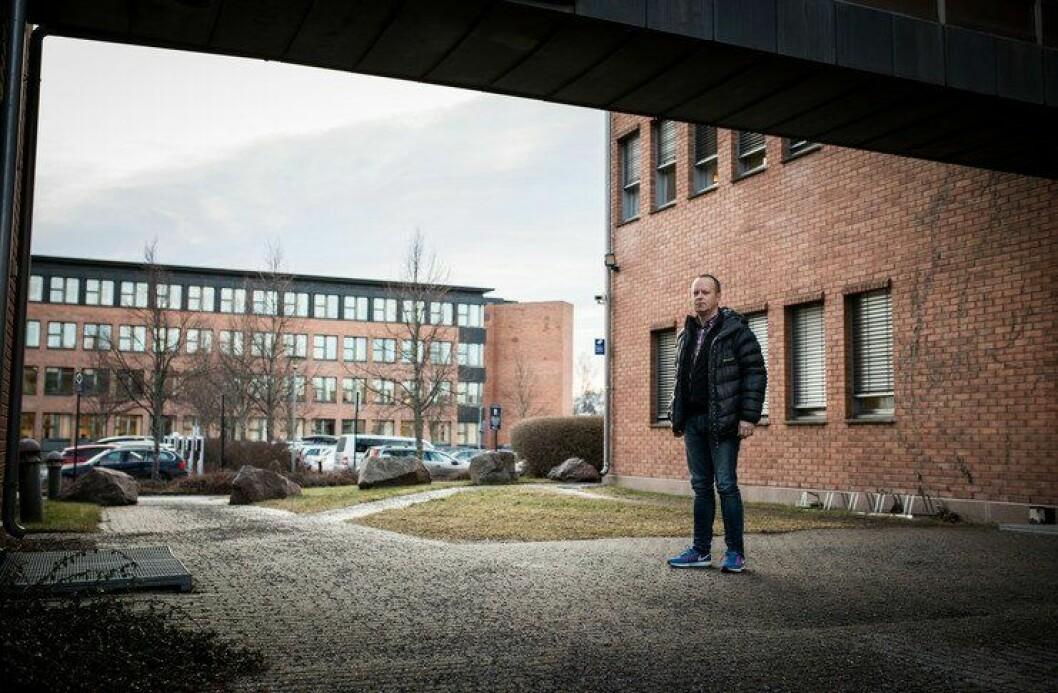 Lokallagsleder i Politiets Fellesforbund på Romerike, Jan Arne Kongsmo, setter pris på at de ansatte sier ifra i vanskelige tider.