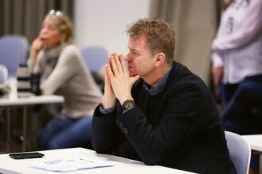 Sigve Bolstad er leder for Politiets Fellesforbund. Foto: Kåre M. Hansen