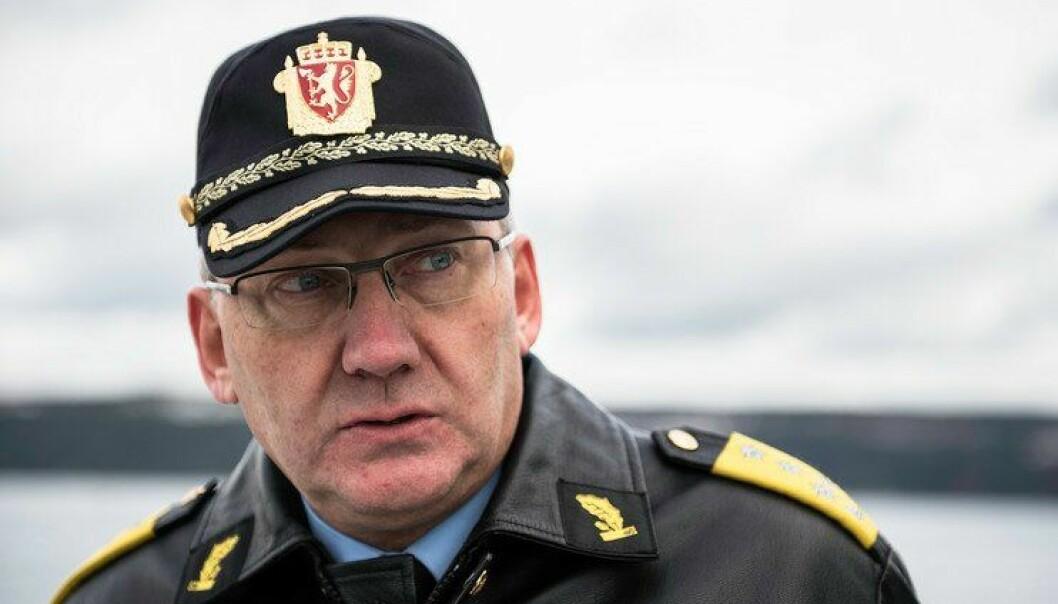 Venter mildere vær: Politidirektør Odd Reidar Humlegård mener 2017 vil fare mildere med politimesternes lommebøker enn fjoråret.