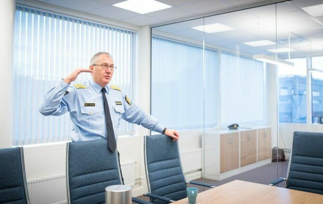 Hever lista: Politidirektøren lover at flere politifolk vil ansettes i år, sammen lignet med i fjor. Da stoppet stillingsveksten opp. Nå skal den skyte fart igjen.