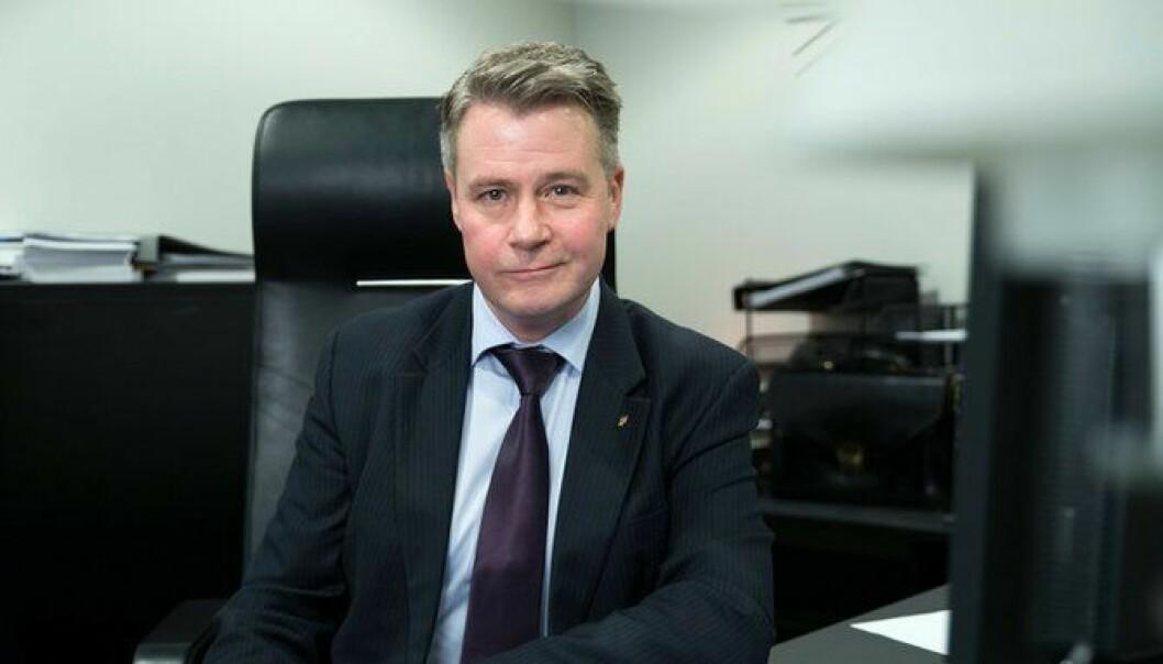 Justis- og beredskapsminister Per-Willy Amundsen.