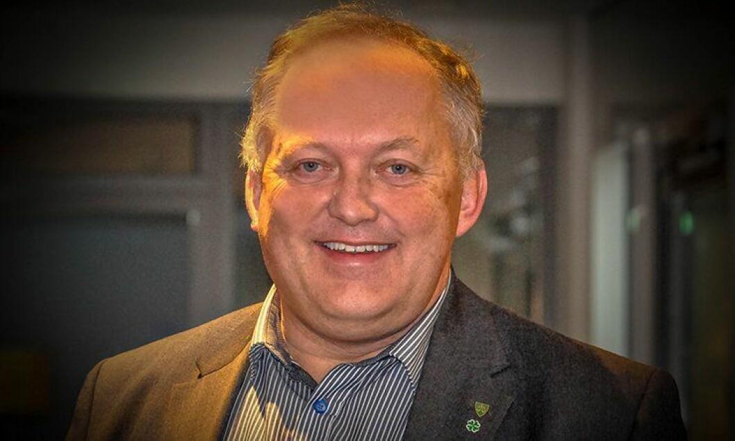 Ordfører John-Erik Vika (Sp) i Eidsvoll.