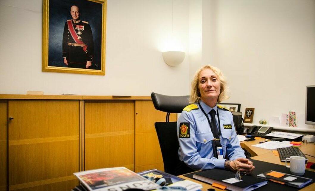 Nina Skarpenes har vært rektor siden 1. september 2014. Nå vil hun fortsette.
