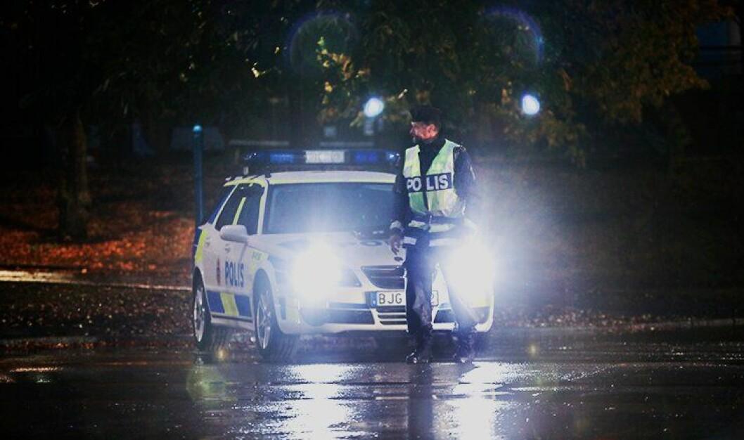 MER PENGER: Svensk politi får mer penger i neste års budsjett. Bakteppet er en rekke skyteepisoder i helga, hvor tre personer er skutt og drept. ARKIVFOTO