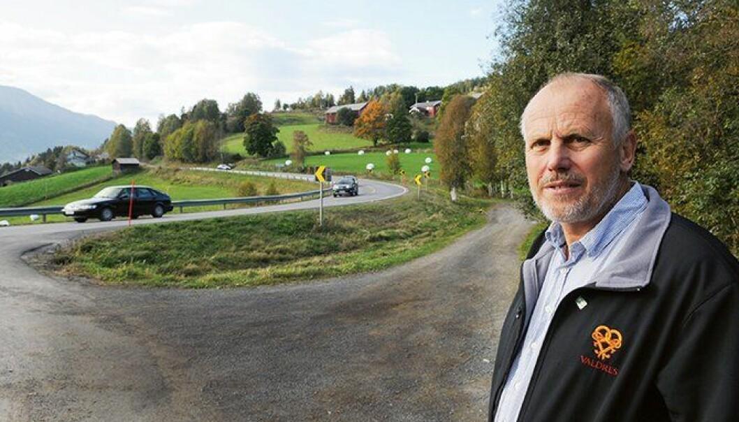 Ordfører for Bygdelista i Vestre Slidre og medlem av Venstre, Eivind Brenna.