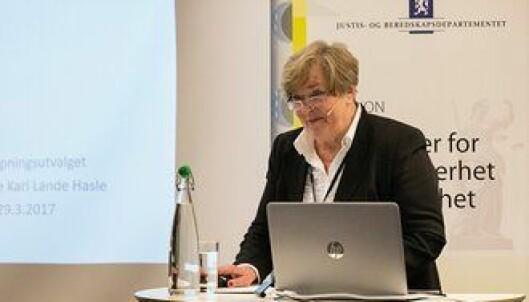 Anne Kari Lande Hasle, utvalgsleder i bevæpningsutvalget.