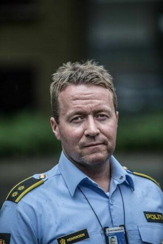 Steinar Vee Henriksen, politioverbetjent ved PHS.