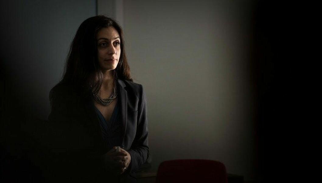 Hadia Tajik (AP) mener alt for mye av politipengene øremerkes.