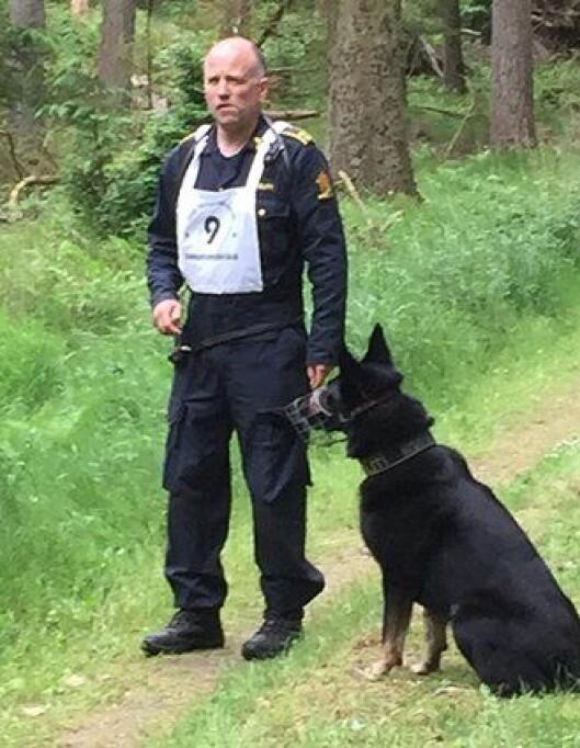 Rolland og Cooper under konkurransen i Danmark.