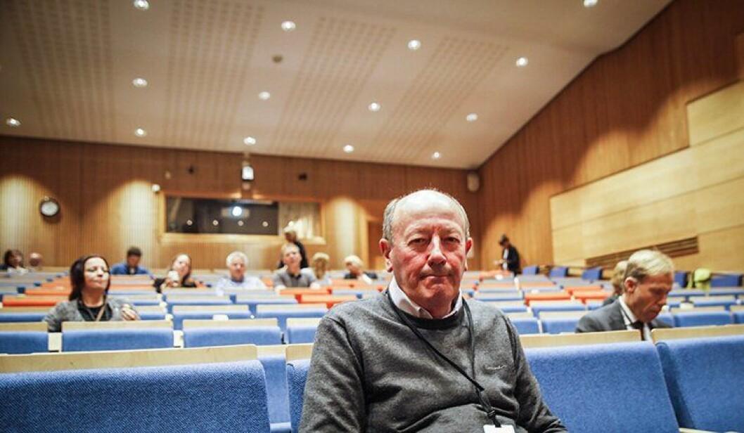 Barry Loveday forsker og foreleser om kriminalitet i England og Wales. Fredag var han i Oslo for å snakke til nordiske politiforskere.