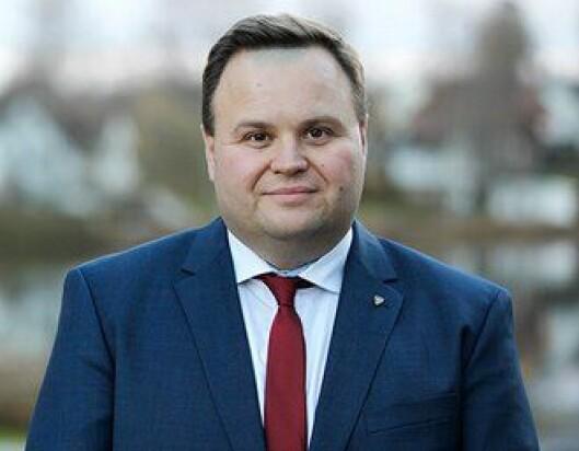 Ordfører Thomas Sjøvold i Oppegård kommune.