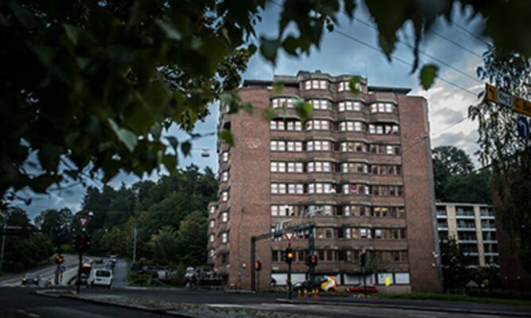 Politiets utlendingsenhet på Økern i Oslo har også egen døgnkontinuerlig drift. Foto: Torkjell Trædal