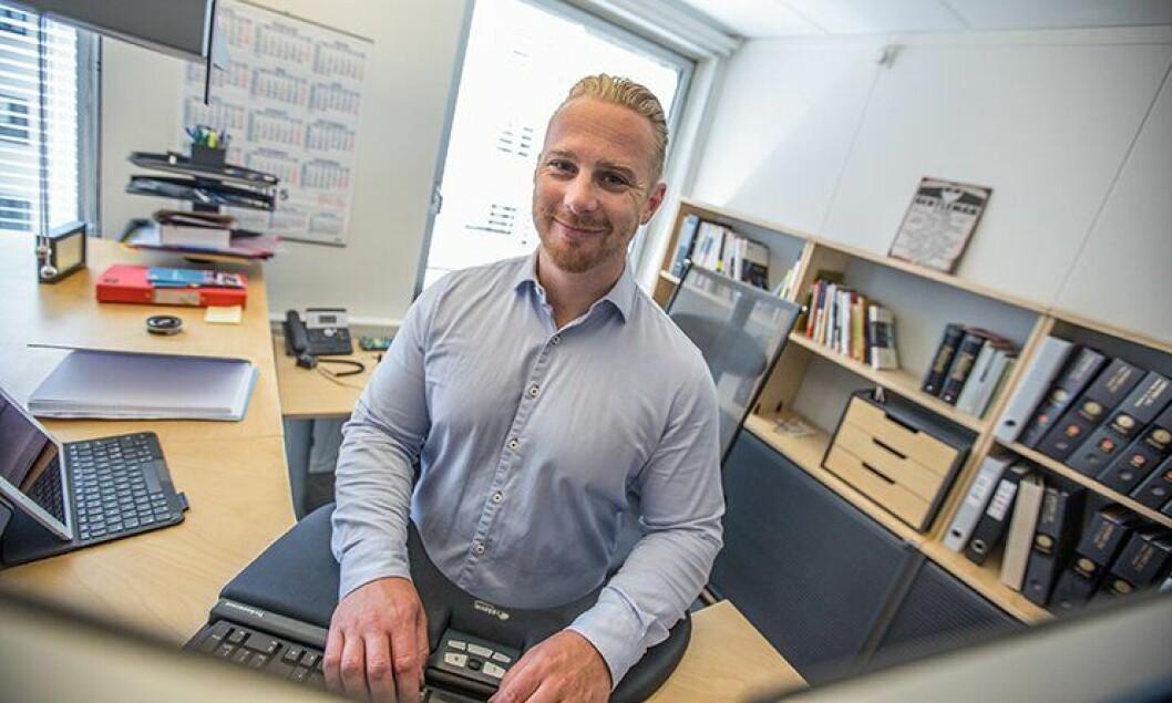 Per Erik Ommundsen ble i dag ansatt som generalsekretær i Politiets Fellesforbund.