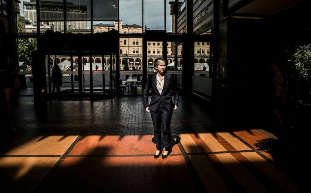 Sofie Nystrøm er bekymra for beredskapen ved for eksempel hybridangrep, der landet rammes av datakriminalitet og fysiske angrep på én gang. Foto
