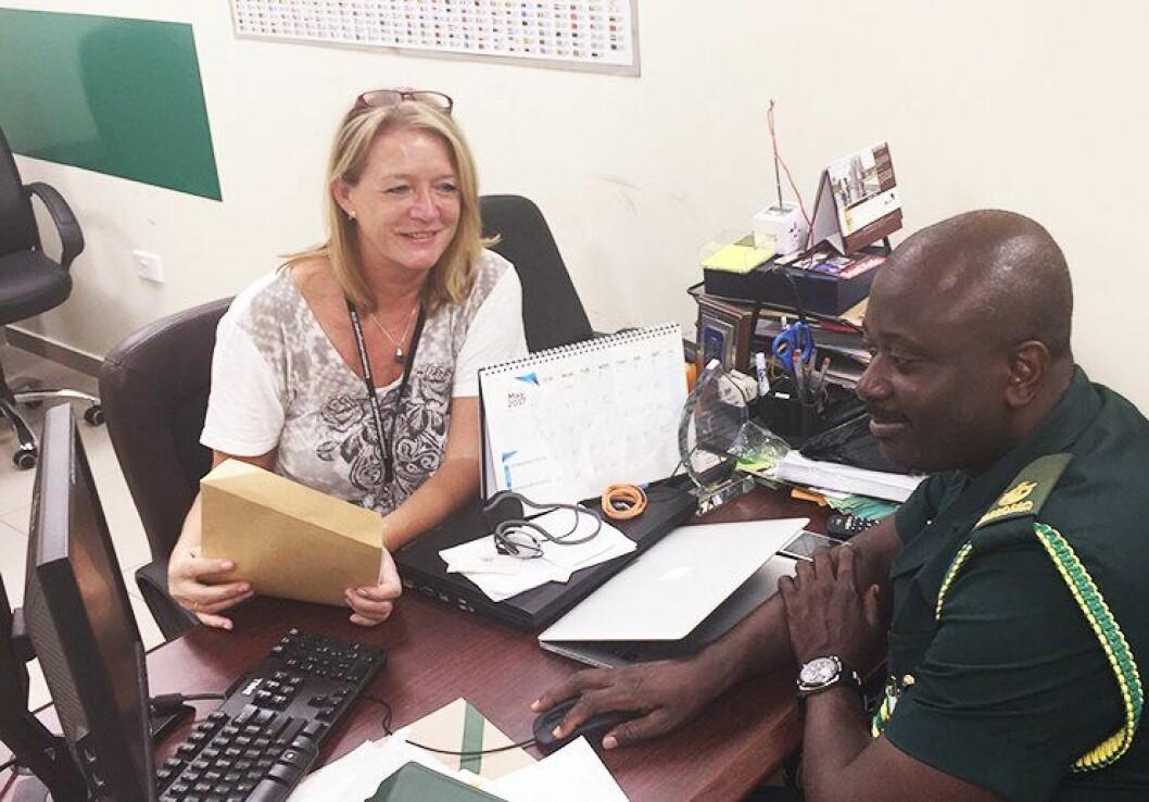 God kontakt med lokale aktører er viktig for Gry i jobben.