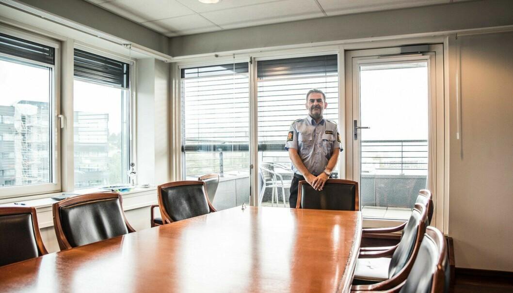 Kripos-sjef Ketil Haukaas er klar på at han er beredt for å øke politiets cyberkompetanse.