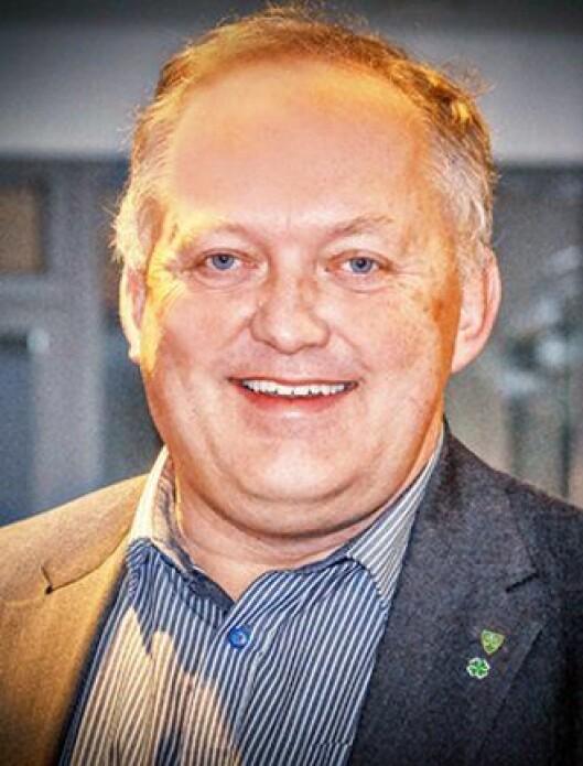 John-Erik Vika er gårdbruker, politimann og Sp-ordfører.