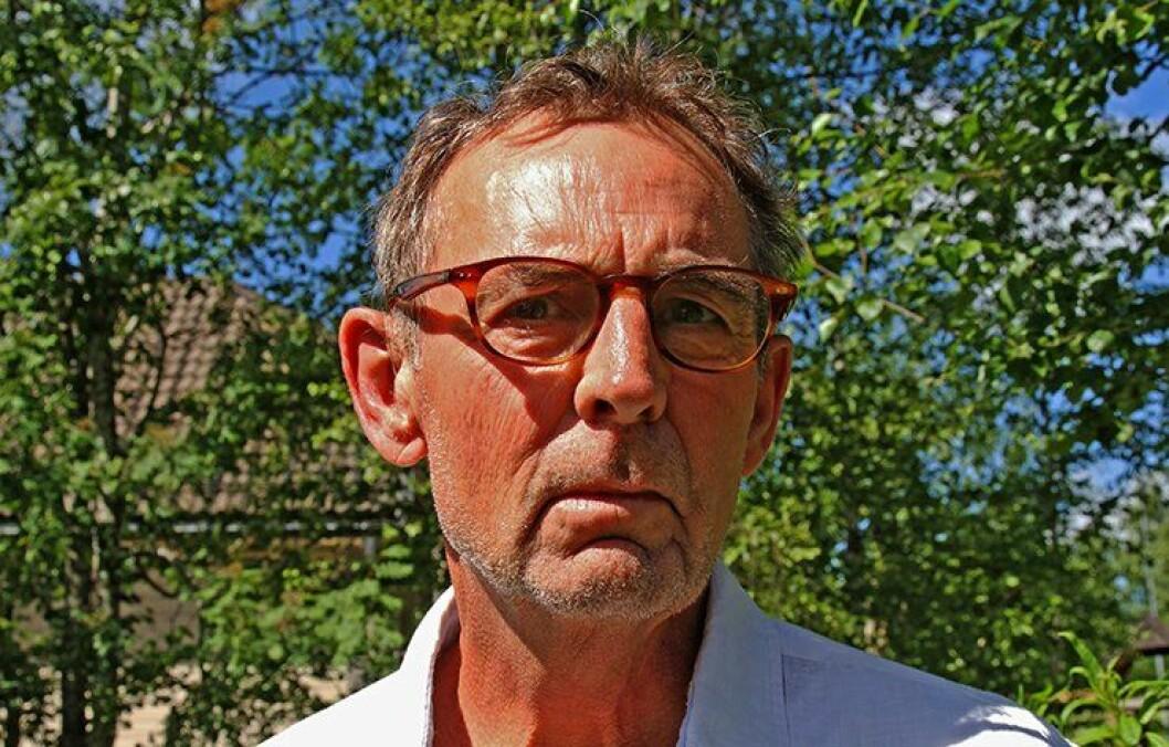 DE FØRSTE NØDSAMTALENE: Håkon Grøttland var på jobb som operasjonsleder i daværende Søndre Buskerud politidistrikt den fatale julidagen for snart seks år siden. Grøttland tok imot den aller første nødsamtalen fra Utøya.