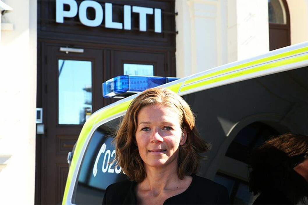 FRA MASTER TIL JOBB: Mens Bjelland skrev masteren fikk hun tilbud om jobb i Kripos. Med erfaring fra politiet jobber politiførstebetjenten nå i seksjon for internettrelatert etterforskningsstøtte, og jobber blant annet med å forebygge radikalisering og voldelig ekstremisme på internett.