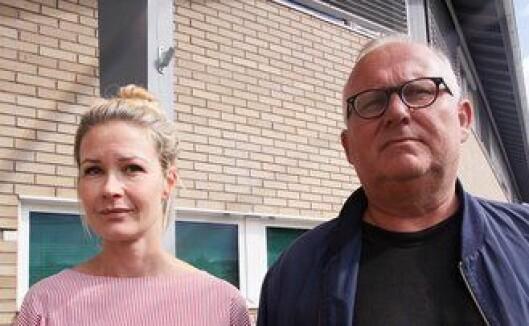 FORNØYDE: Politiadvokat Ann Elisabeth Billa og etterforskningsleder Ingar Høye er svært fornøyd med arbeidet som er lagt ned.