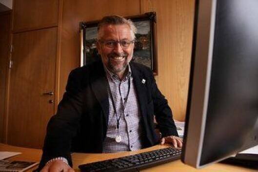 MIDLERTIDIG BEREDSKAPSSENTER: Ordfører i Kongsvinger Sjur Strand (Ap) mener alt ligger til rette for øvingsareal til både bombegruppa og beredskapstroppen ved Politihøgskolens øvingssenter på Sæter i Kongsvinger.