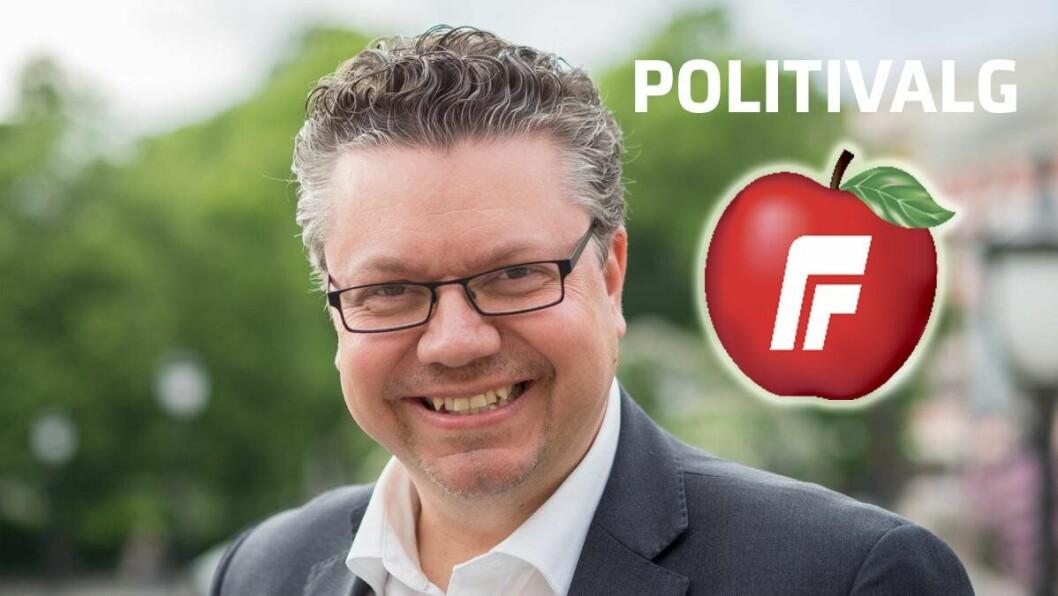 FRP: Ulf Leirstein, justispolitisk talsmann i Fremskrittspartiet. FOTO: Frp