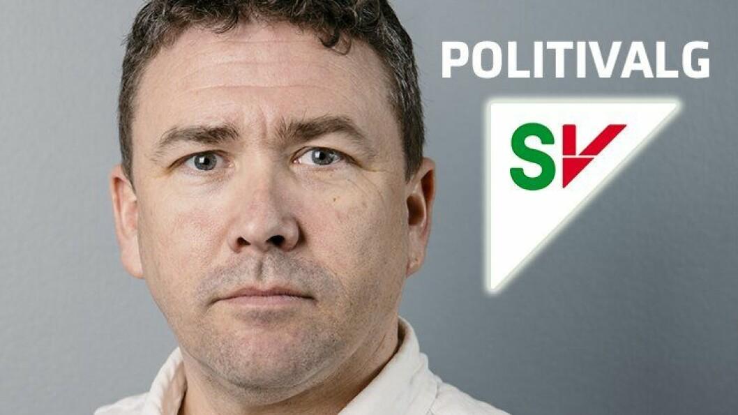 SV: Førstekandidat for SV i Aust-Agder, Fredrik Schulze-Krogh. FOTO: Marius Nyheim Kristoffersen