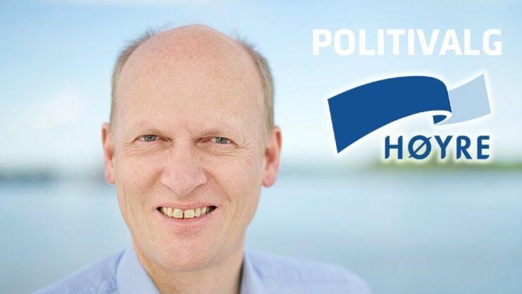 HØYRE: Anders Werp er justis politisktalsperson i Høyre og er partiets representant i justiskomiteen på Stortinget. FOTO: Høyre