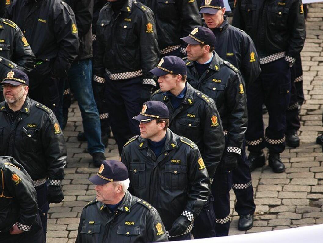 POLITI: Målet om to politiansatte per 1000 innbygger er stadig opp til debatt.