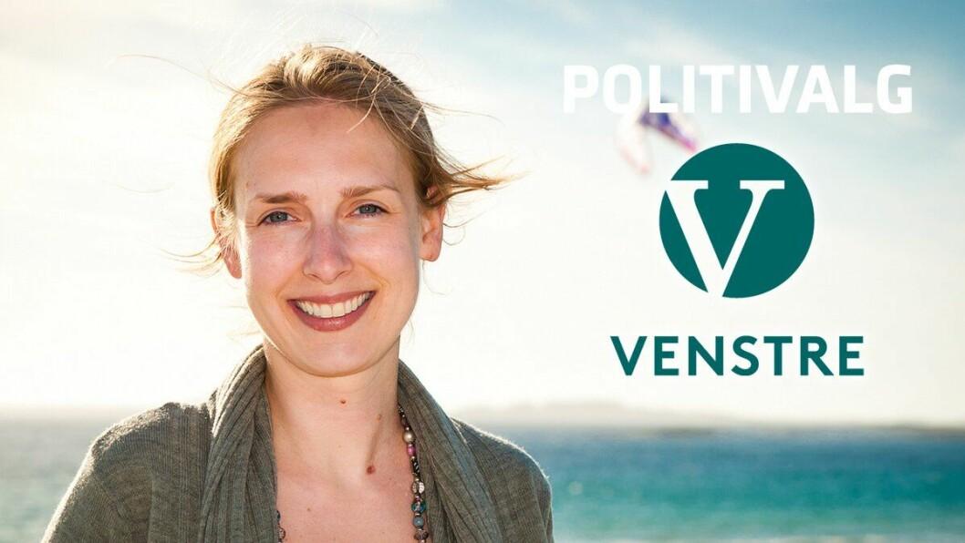 VENSTRE: Stortingsrepresentant Iselin Nybø.