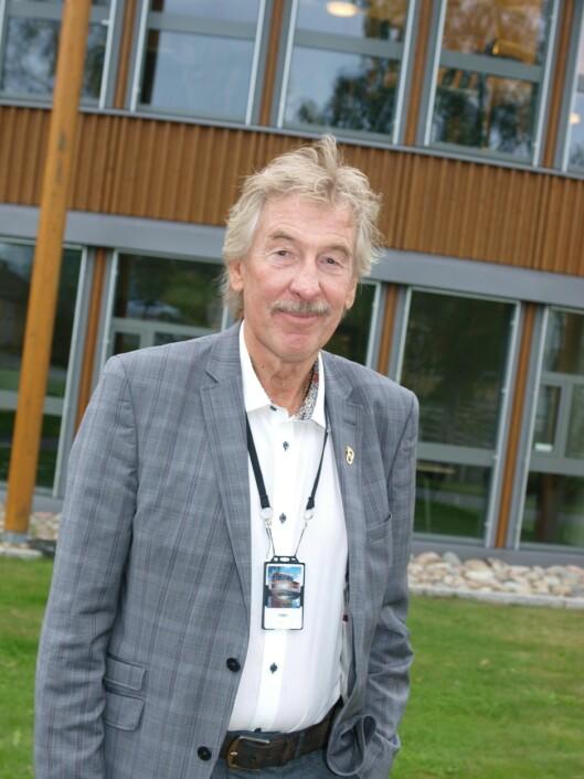 PRIMUS MOTOR: Hva er viktig med livet, spurte leder for seniorkonferansen Øyvind Røen.