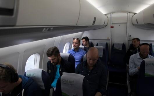 Den vanlige reiseruta med jobbe går med Widerøes fly fra Hammerfest, via Tromsø, til Kirkenes.