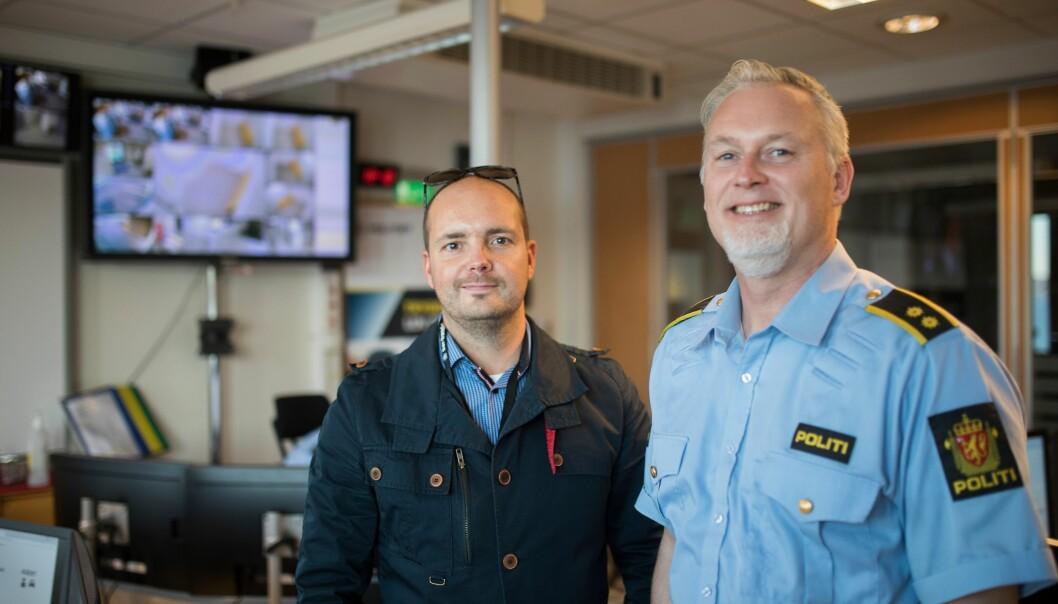 De to operasjonslederne er glade i jobben sin. Og når de er i Kirkenes går de inn i en arbeidsboble, som varer helt til neste langfriperiode.