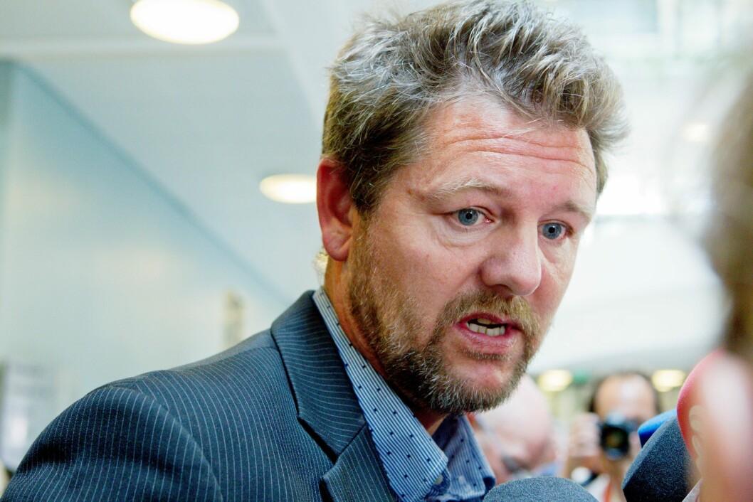 REAGERER: Politiker i Kristiansand Trond Blattmann reagerer på politidekningen. Agder politidistrikt er blant politidistriktene med lavest politikraft i landet. Foto: Berit Roald / NTB Scanpix