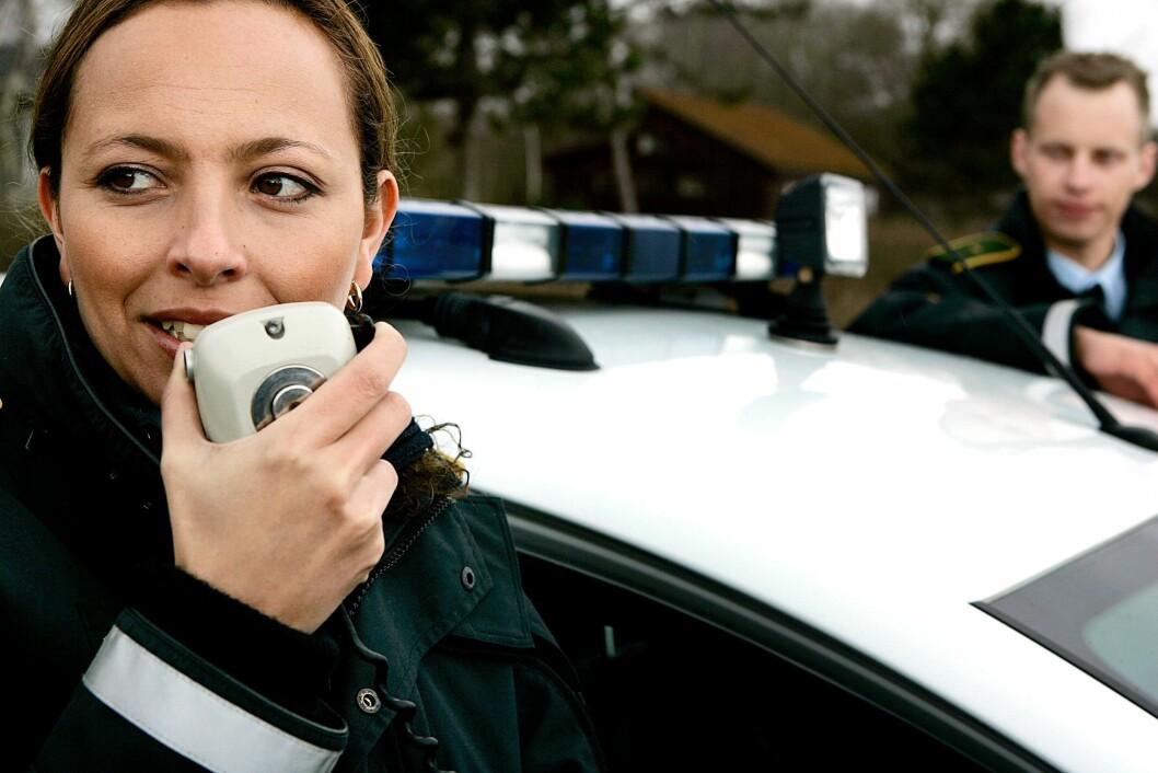 IKKE POLITIARBEID: Den danske regjeringen setter inn militære styrker i det som til nå har vært politiarbeid.