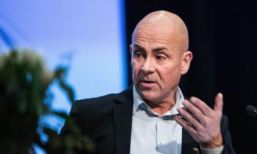 BEKYMRET: Leder av Dansk politiforbund, Claus Oxfeldt er bekymret for at regjeringen setter inn militære styrker i det som til nå har vært politiarbeid.