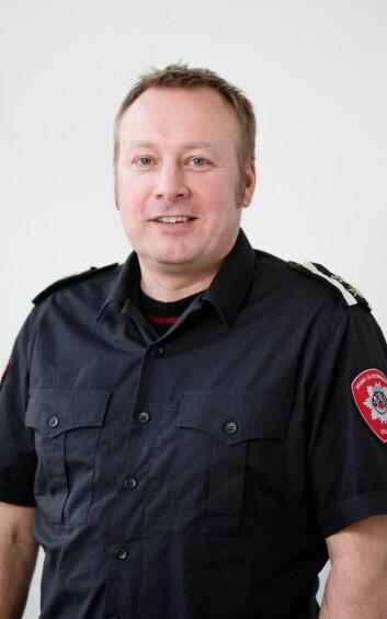 Fredrik Frøland, beredskapssjef i Oslo brann- og redningsetat. Foto: OBRE
