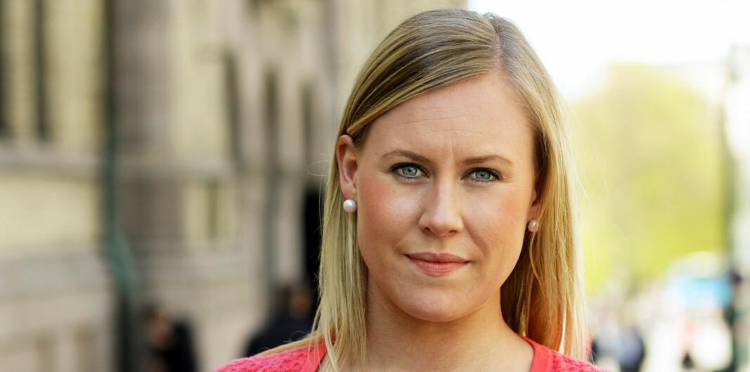Lene Vågslid er stortingsrepresentant for Arbeiderpartiet og leder av justiskomiteen.