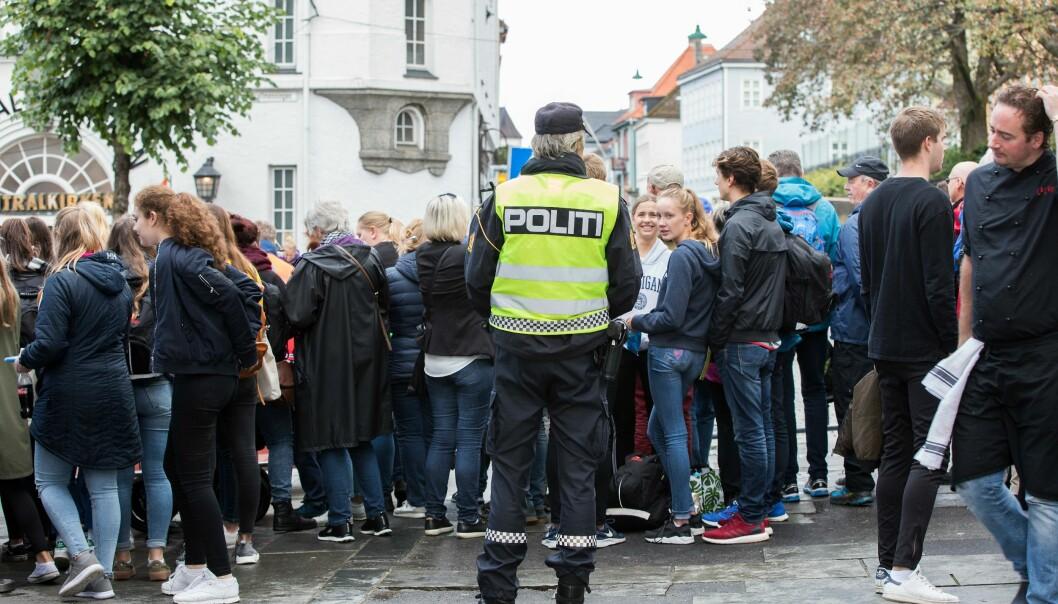 SAMFUNNSOPPDRAGET: Sør-Øst politidistrikt er et av mange politidistrikter som ligger an til underskudd i budsjettet for 2017.